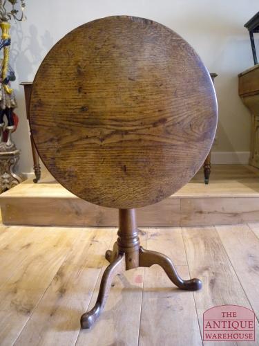 Antieke Eiken Ronde Eettafel.Antieke Bird Cage Tilt Top Tafel Circa 1750 Sold Antique