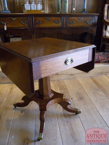 Antieke Eiken Sidetable.Antieke Side Table Antieke Meubels Antique Warehouse