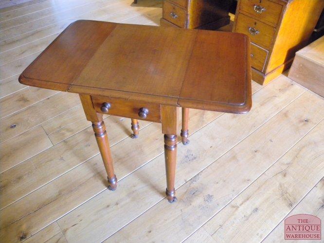 Antiek Hoog Tafeltje.Antieke Pembroke Tafel Antieke Meubels Antique Warehouse