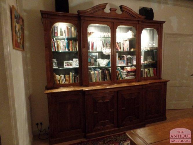 Antieke boekenkast   Antieke bureau inrichting - Antique Warehouse