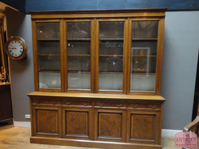 Antieke boekenkast | Antieke bureau inrichting - Antique Warehouse