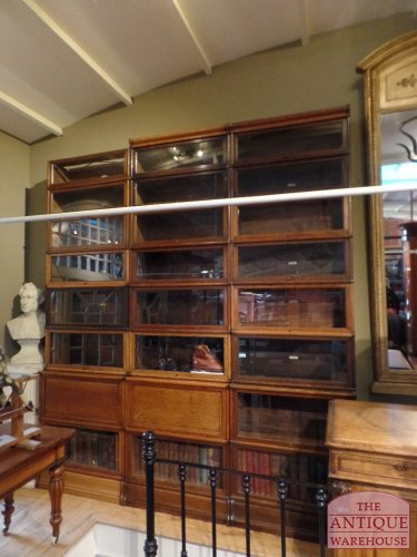 Antieke Globe Wernicke Boekenkast.Oak Sectional Antique Library Original Globe Wernicke Bookcase