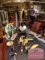 anatomical model of a flower, botanical flower models