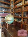 antique library globe by, W & A.K. Johnston, 18 inch Terrestrial Globe, geographers, engravers & printers  Edingburgh and Londonh