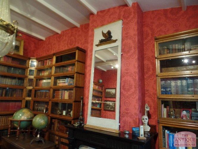 Antieke Spiegel Frans.Antieke Spiegel Frans Tweede Periode Empire Circa 1860