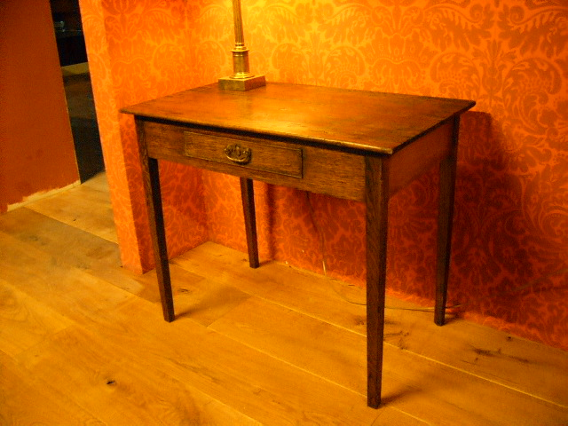 Antieke Eiken Sidetable.Iers Antiek Eiken Side Table Verkocht Antique Warehouse