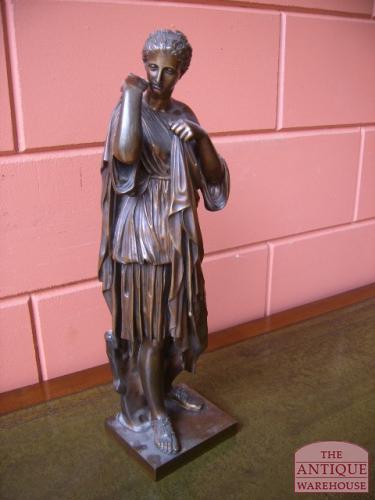 Antieke Bronzen Bel.Antieke Bronzenbeelden Antiek Varia Antique Warehouse