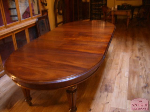 Antieke Ronde Mahoniehouten Tafel.Antieke Mahonie Engelse Ovale Eettafel Verkocht Antique