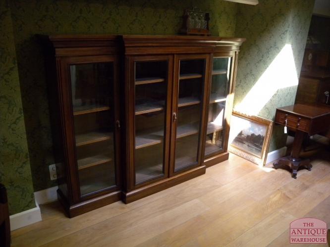 antieke lage mahonie boekenkast antieke mahonie lage boekenkast