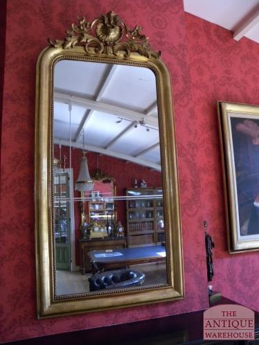 antieke Franse spegel