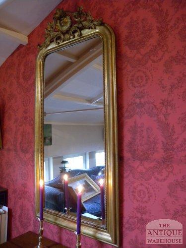 diverse antieke spiegels