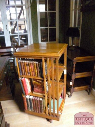 antieke eiken hoge boekenmolen