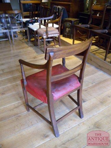 antieke bureaustoel