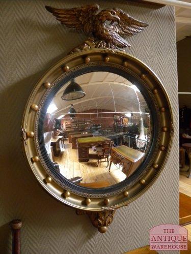 antieke butler mirror