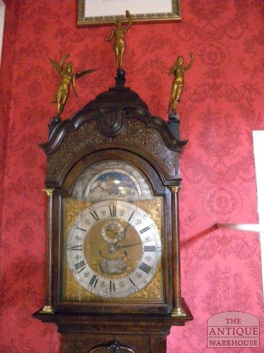 Antiek staand horloge Pieter Swaan