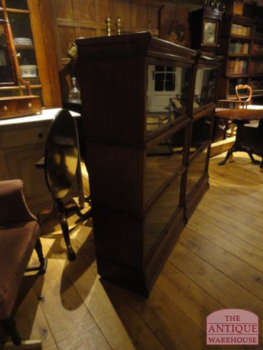 mahonie globe wernicke boekenkast