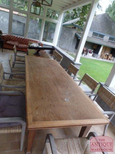 antieke eiken tafel