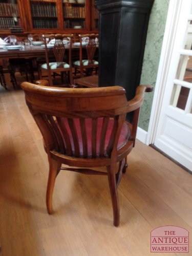 antieke bureau stoel