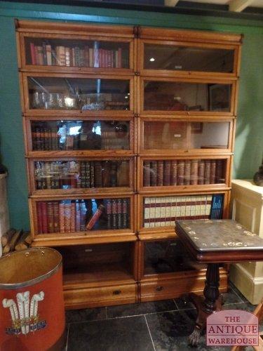antieke Globe Wernicke boekenkast