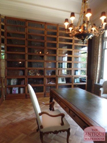 antique oak librarytable